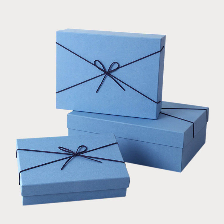 Professional Custom Paper Storage Boxes Colored Gift Boxes For Christmas Presents