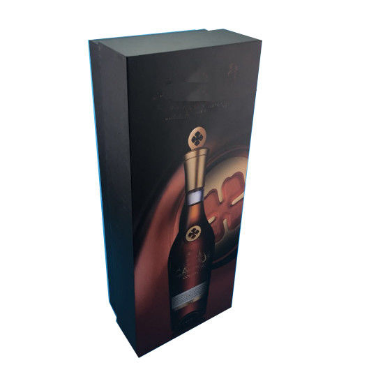 Metallic Paper Paper Display Box Color Printing Display Gift Boxes For Packaging Wine