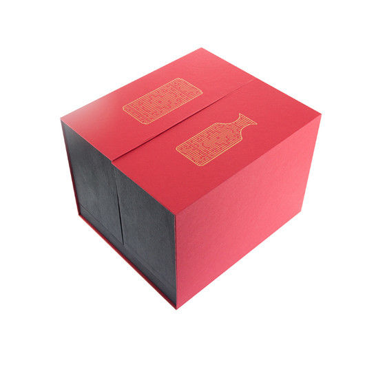 Recyclable Custom Counter Display Boxes For Gift Chocolate / Wine / Packaging